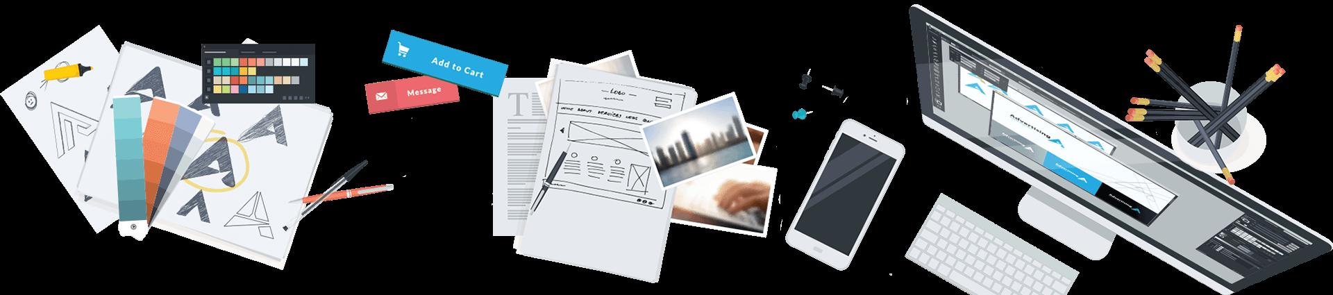 امکانات طراحی وب سایت