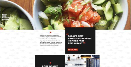 صفحه اصلی ساده و بدون مزاحمت در طراحی سایت