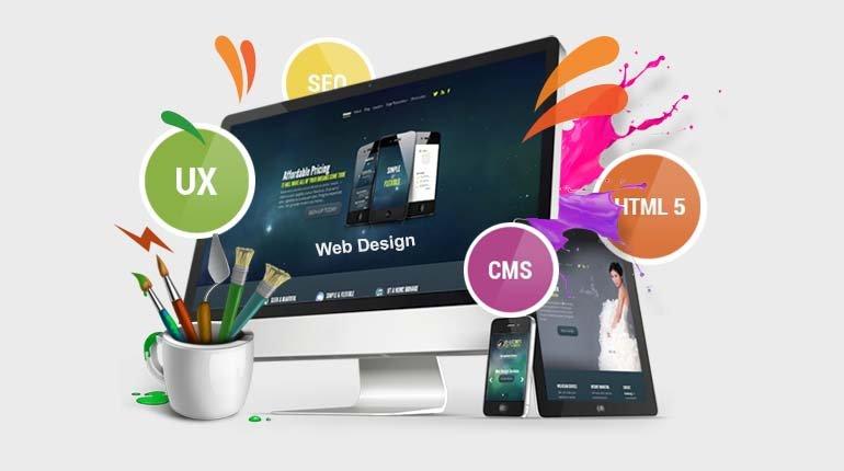 امکانات طراحی سایت
