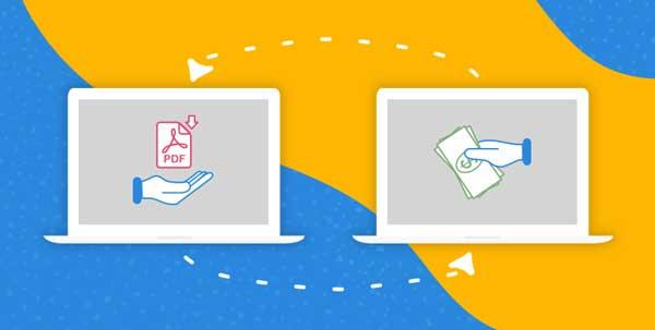 بازاریابی اینترنتی سایت فروش فایل