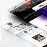 طراحی صفحه اصلی سایت آتلیه عکاسی