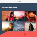 گالری تصاویر در طراحی سایت انتشارات